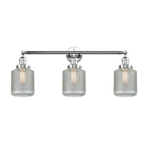Stanton Polished Chrome Three-Light LED Bath Vanity