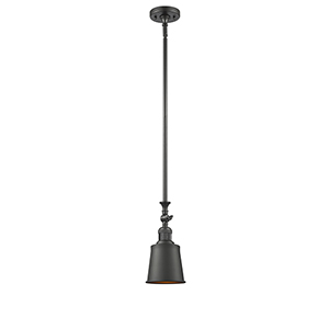 Addison Oiled Rubbed Bronze 13-Inch One-Light Mini Pendant