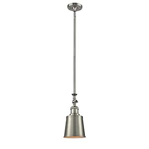 Addison Brushed Satin Nickel 13-Inch LED Mini Pendant