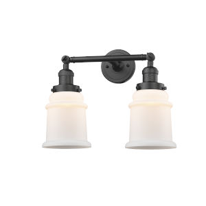 Canton Oil Rubbed Bronze Two-Light LED Bath Vanity