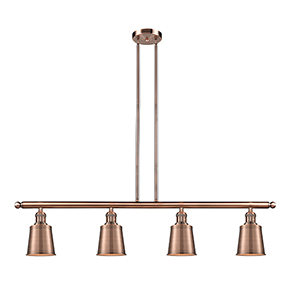 Addison Antique Copper Four-Light LED Island Pendant