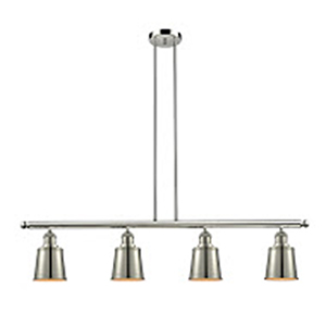 Addison Polished Nickel Four-Light LED Island Pendant