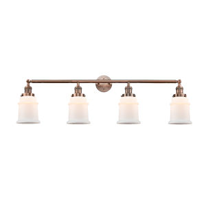 Canton Antique Copper Four-Light LED Bath Vanity