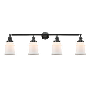Canton Oil Rubbed Bronze Four-Light LED Bath Vanity
