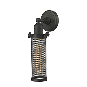 Quincy Hall Oiled Rubbed Bronze Four-Inch One-Light Wall Sconce