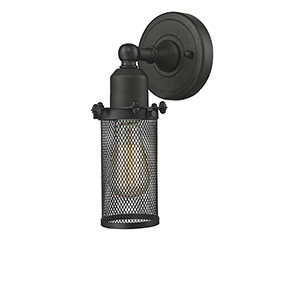 Quincy Hall Oiled Rubbed Bronze Five-Inch One-Light Wall Sconce
