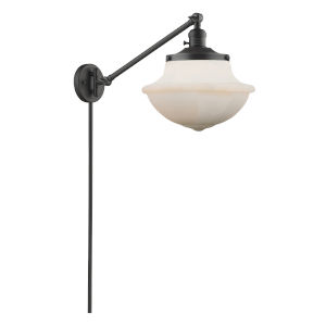 Franklin Restoration Oil Rubbed Bronze 12-Inch One-Light Swing Arm Wall Sconce