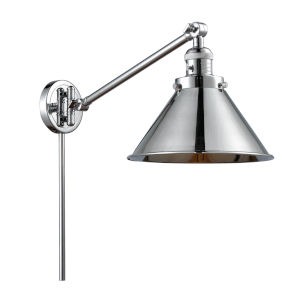 Briarcliff Polished Chrome LED Swing Arm Wall Sconce
