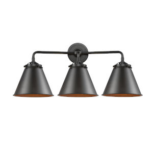 Nouveau Oil Rubbed Bronze 26-Inch Three-Light Bath Vanity