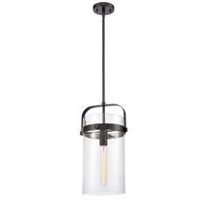 Pilaster Matte Black LED Mini Pendant