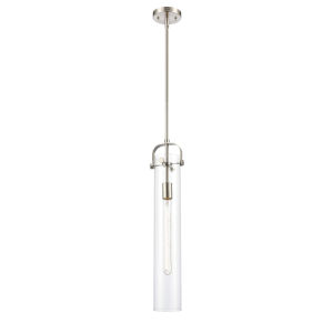 Pilaster Brushed Satin Nickel Five-Inch LED Mini Pendant