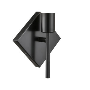 Mia Matte Black One-Light Wall Sconce