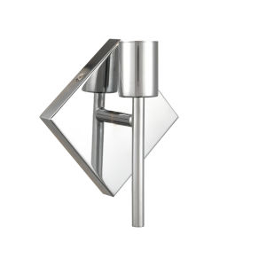 Mia Polished Chrome One-Light Wall Sconce