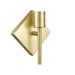 Mia Satin Brass One-Light Wall Sconce