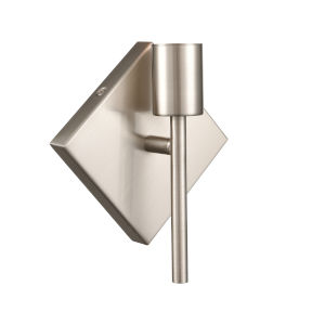 Mia Satin Nickel One-Light Wall Sconce