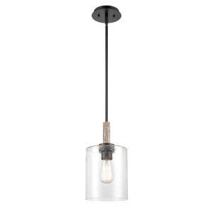 Paladin Matte Black LED Mini Pendant