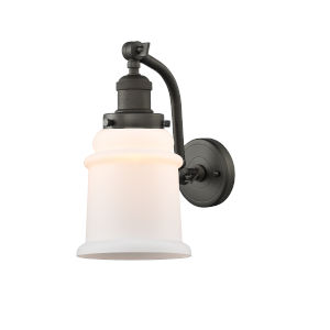 Canton Oil Rubbed Bronze One-Light Wall Sconce