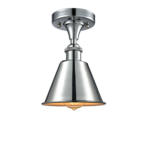 Smithfield Polished Chrome LED Semi Flush Mount