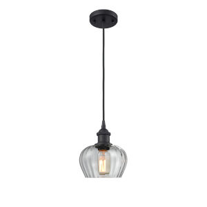 Ballston Matte Black Seven-Inch One-Light Mini Pendant