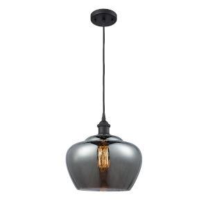 Ballston Matte Black 11-Inch One-Light Pendant