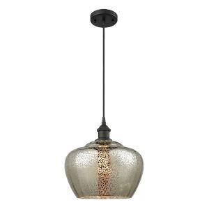Ballston Oil Rubbed Bronze 11-Inch One-Light Pendant