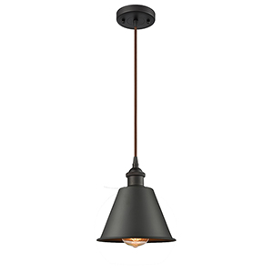 Smithfield Oiled Rubbed Bronze One-Light Mini Pendant