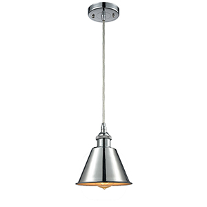Smithfield Polished Chrome One-Light Mini Pendant