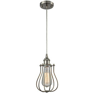Barrington Brushed Satin Nickel One-Light Mini Pendant