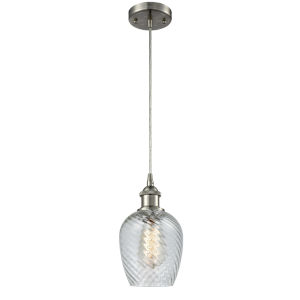 Ballston Brushed Satin Nickel Five-Inch One-Light Mini Pendant