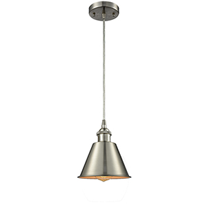 Smithfield Brushed Satin Nickel LED Mini Pendant