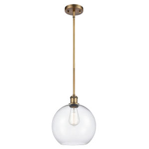 Ballston Brushed Brass One-Light Pendant