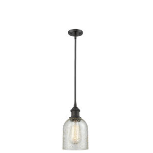 Ballston Oil Rubbed Bronze Five-Inch One-Light Mini Pendant