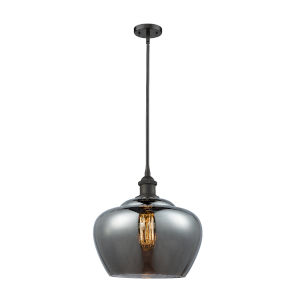 Large Fenton Oil Rubbed Bronze One-Light Pendant