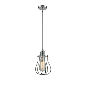 Barrington Polished Chrome Six-Inch One-Light Mini Pendant