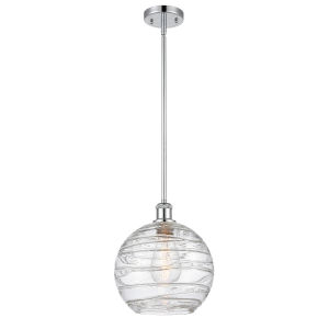 Ballston Polished Chrome 10-Inch LED Pendant with Clear Glass Shade