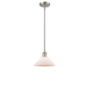 Orwell Brushed Satin Nickel LED Mini Pendant