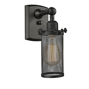 Bleecker Oiled Rubbed Bronze One-Light Wall Sconce