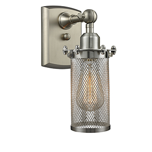 Bleecker Brushed Satin Nickel One-Light Wall Sconce