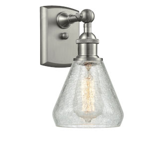 Conesus Brushed Satin Nickel One-Light Wall Sconce