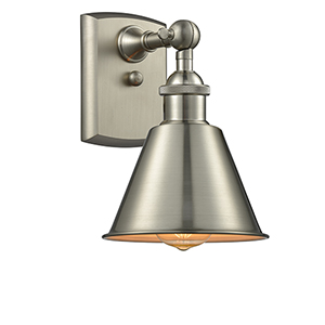 Smithfield Brushed Satin Nickel LED Wall Sconce