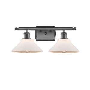Orwell Oil Rubbed Bronze Two-Light LED Bath Vanity
