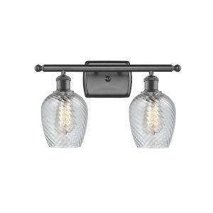Salina Oil Rubbed Bronze Two-Light LED Bath Vanity
