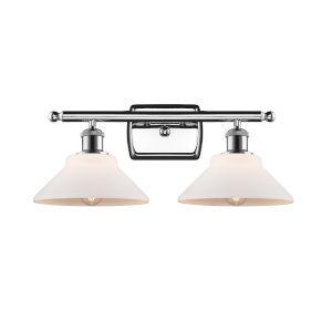 Orwell Polished Chrome Two-Light LED Bath Vanity