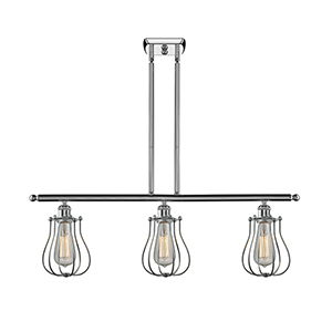 Barrington Polished Chrome Three-Light Island Pendant