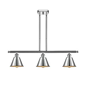 Smithfield Polished Chrome Three-Light LED Island Pendant