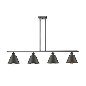 Smithfield Oiled Rubbed Bronze Four-Light LED Island Pendant