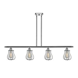 Barrington Polished Chrome Four-Light LED Island Pendant