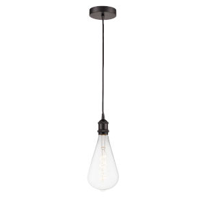 Ballston Oil Rubbed Bronze Five-Inch LED Mini Pendant