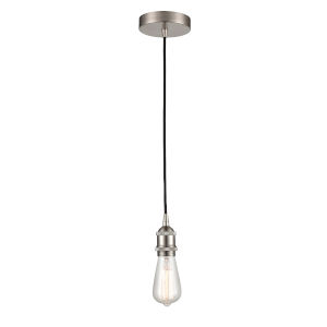 Franklin Restoration Satin Nickel One-Light Mini Pendant