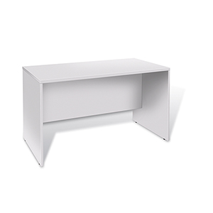 100 Collection White 47-Inch Computer Desk